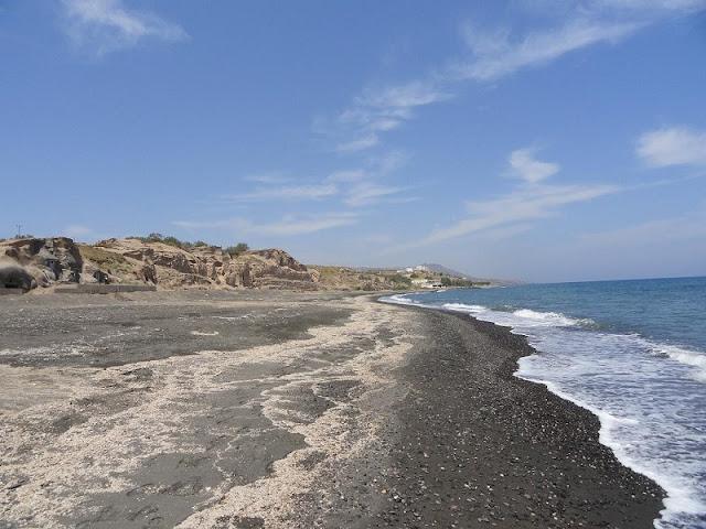 Praia Monolithos, Santorini