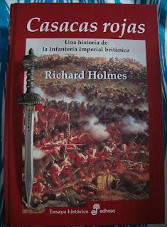 Portada del libro Casacas rojas, de Richard Holmes