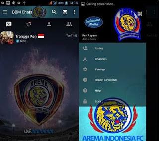 BBM MOD Arema Apk v2.13.1.14