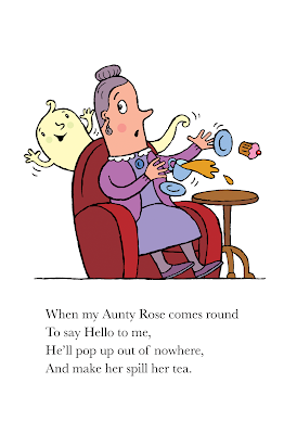 Aunt Rose is spooked by a spook