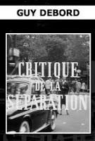 Critique de la séparation, affiche