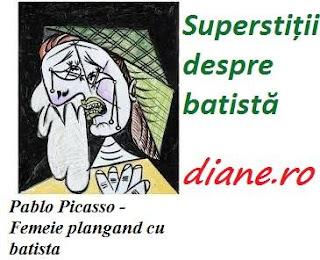 Superstiții despre batistă