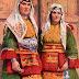 Mazedonische Frauen in Tracht - Illustration