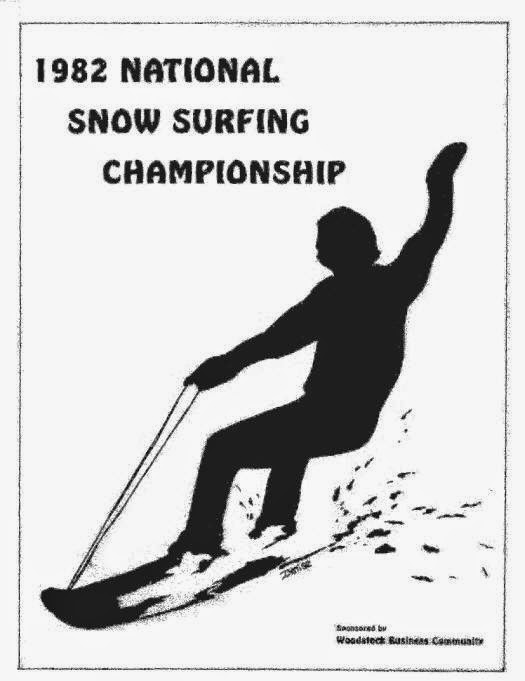 The 1982 National Snow Surfing Championship Program