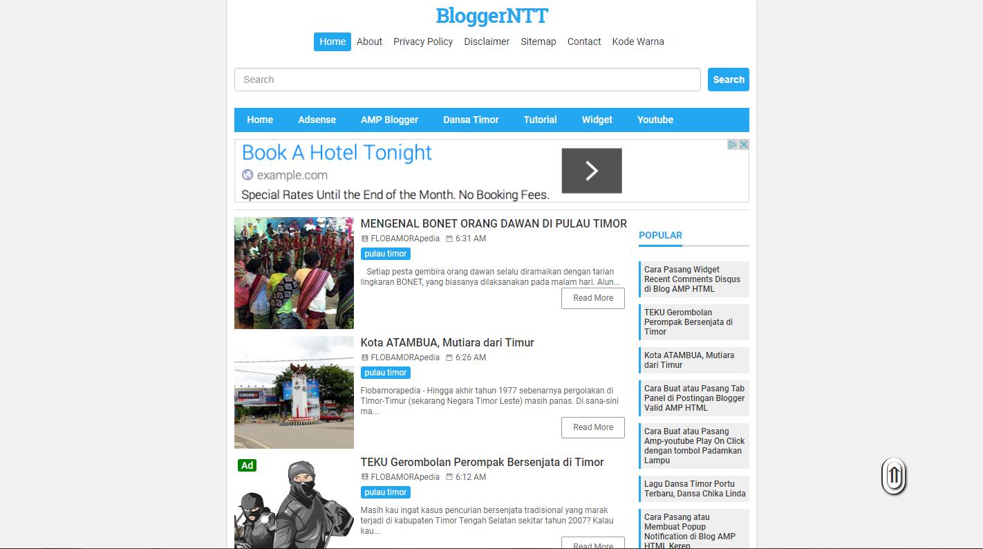 Awal Perkenalan, KompiMinimalis Buah Tangan KompiAjaib Untuk Blogger Indonesia