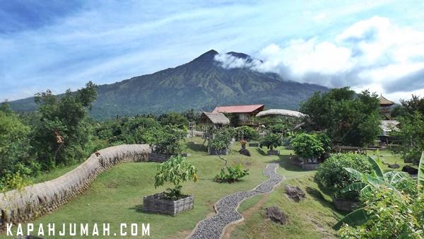 Rumah Pohon di Kubu Karangasem Bali