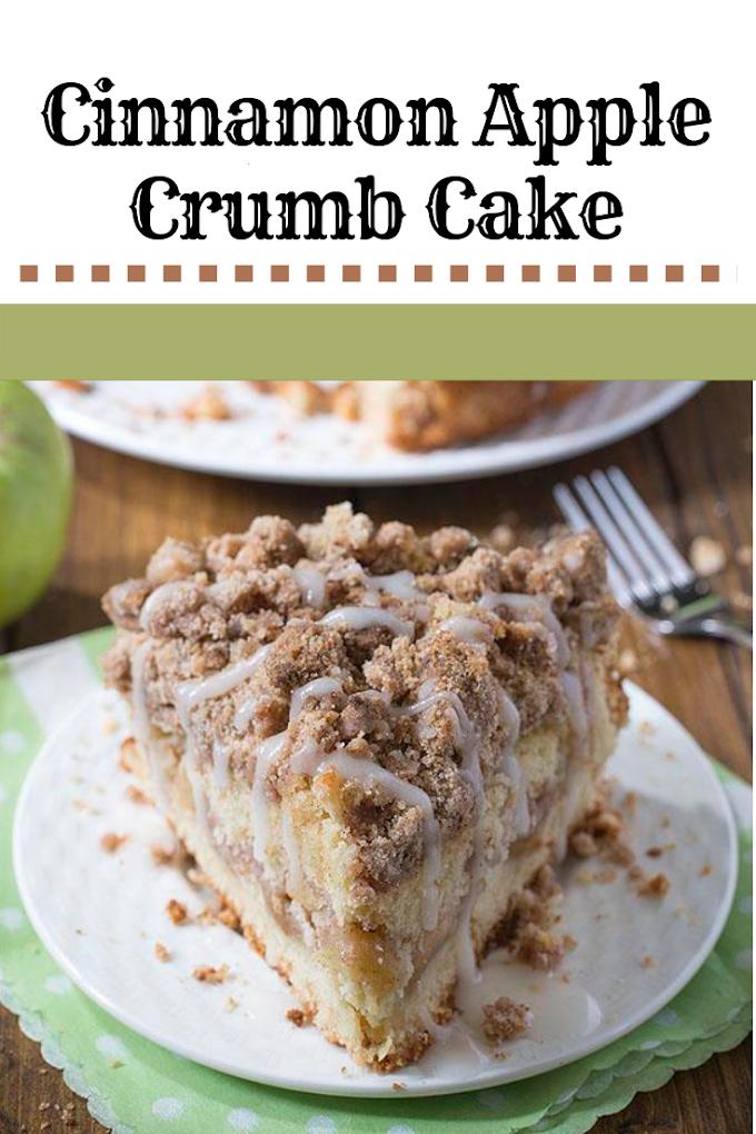CINNAMON APLE CRUMB CAKE
