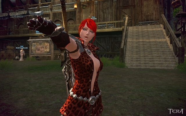 TERA – Antialiasing Tweak with Screenshot Comparison