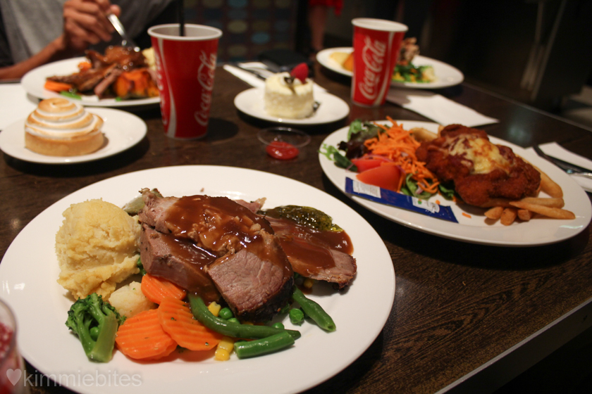 Jupiters casino food