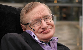 Stephen Hawking leaves the black hole