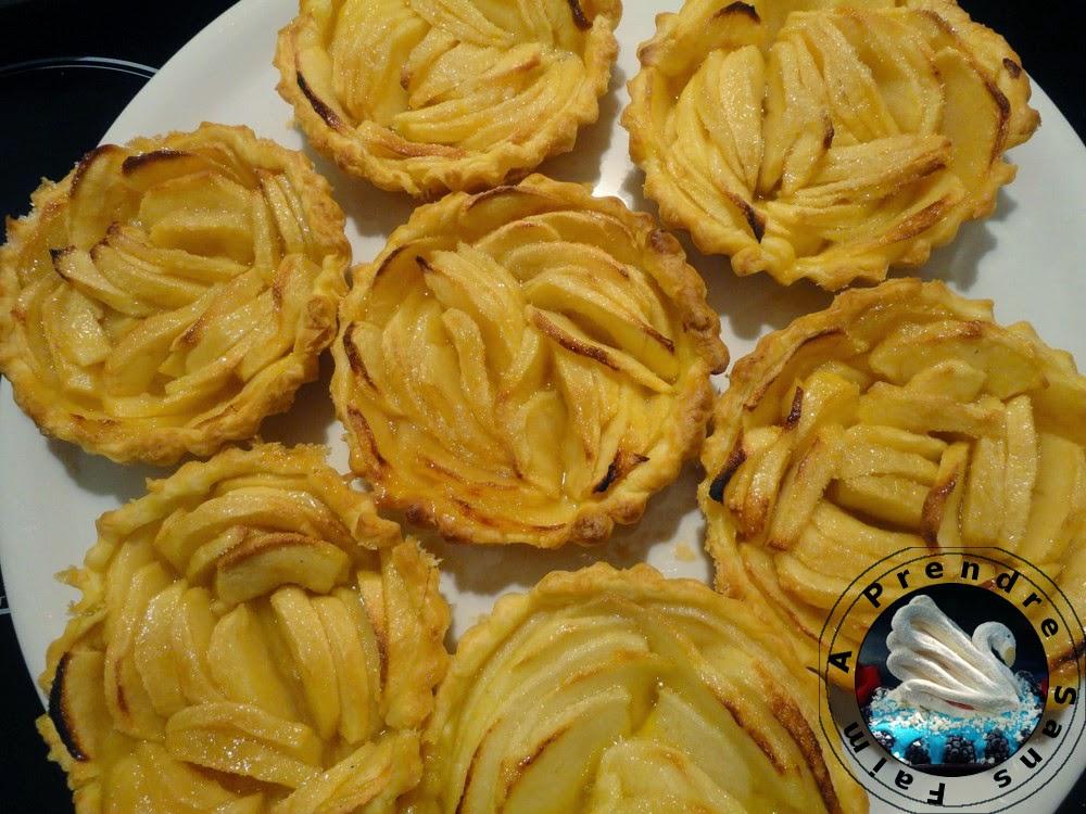 Tartelettes aux pommes et au beurre