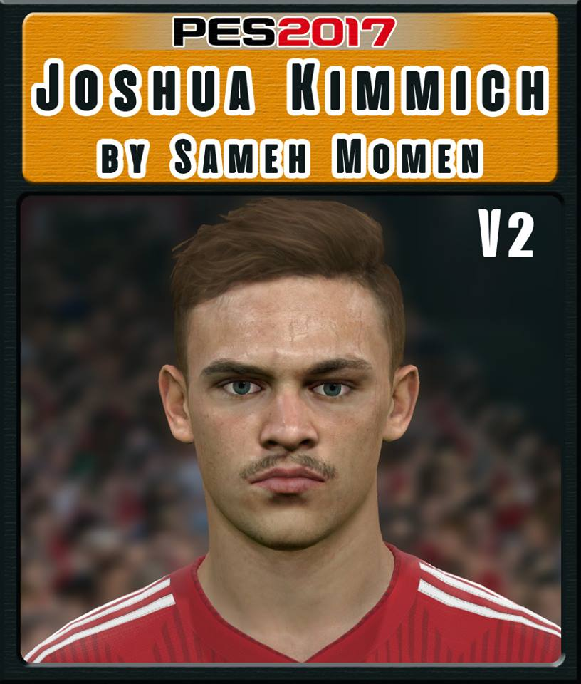 PES 2017 J. Kimmich Face V2 by Sameh Momen
