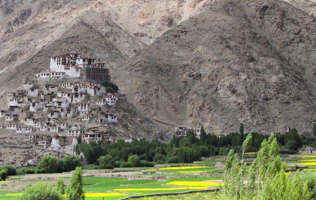 Stunning Chemrey Monastery of Ladakh, India