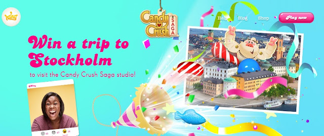 Candy Crush Saga Sweet Feeling Sweepstakes