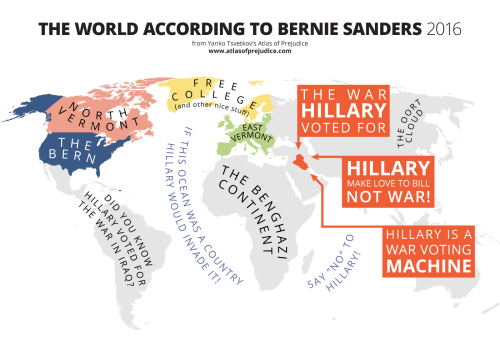 The World according to Bernie Sanders
