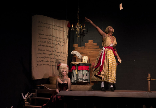 Park Krausen and Parris Sarter | The Revolutionists | 7 Stages | Photo by Stungun Photography