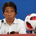 Técnico do Japão afirma que não esperava contra-ataque no fim do jogo