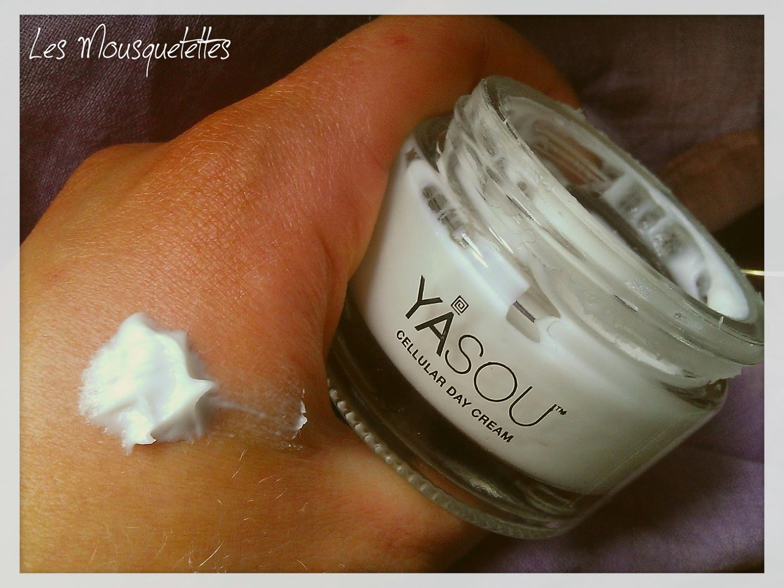 Cellular Day Cream Yasou Skincare - Les Mousquetettes©