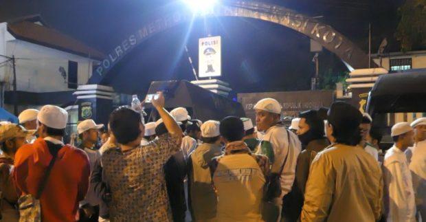 Pasca Razia Obat Terlarang, Anggota FPI Kini Ditahan di Polda Metro Jaya