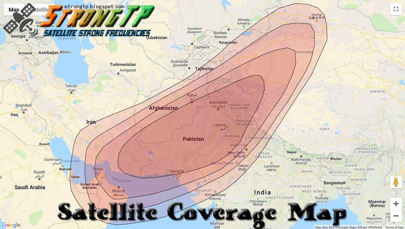 PakSat 1R 38° East | Satellite Strong Frequencies 2019
