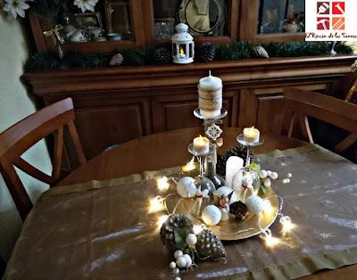 vestir la mesa en navidad
