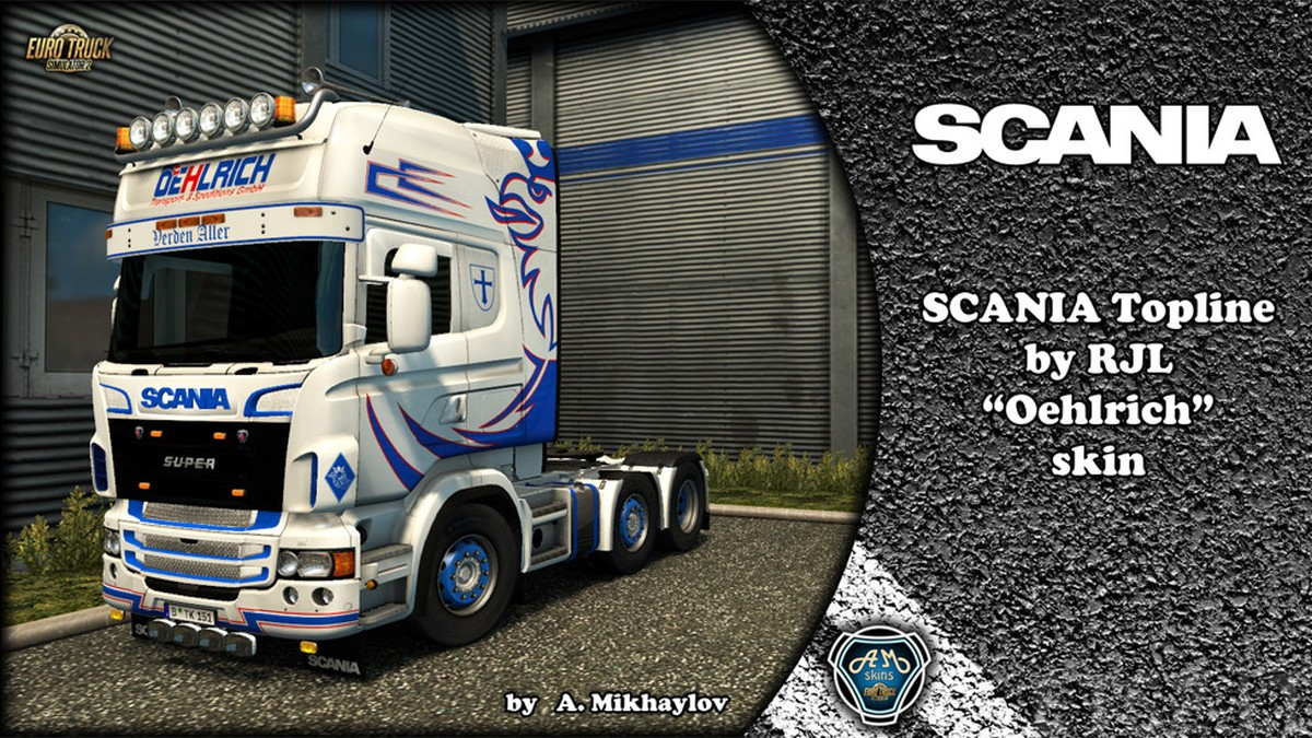 Oehlrich Skin for Scania RJL