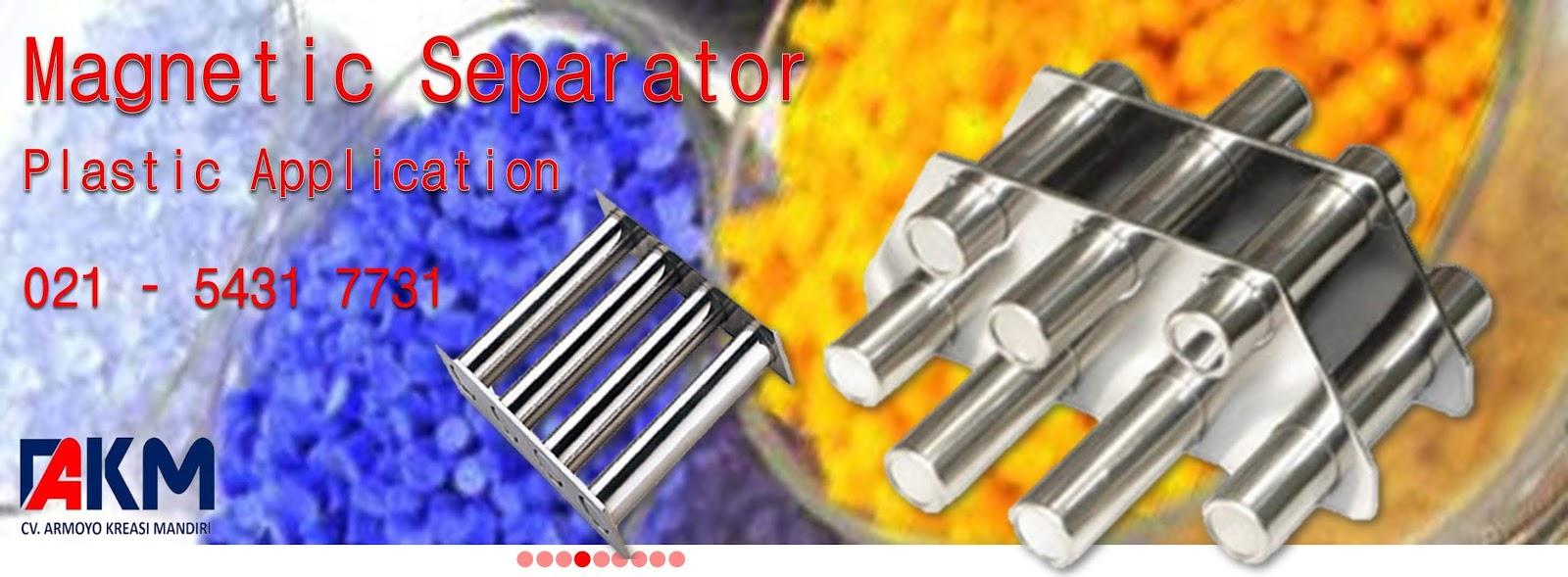 Magnetic Separator untuk Plastic