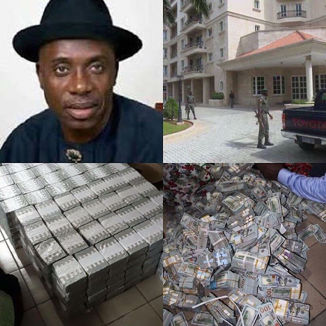 Guess who owns the Ikoyi house where EFCC recovers $50M, Rotimi Ameachi