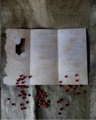 harga paket percetakan spesialis kartu Undangan pernikahan soft Cover 88121 murah terbaru di jakarta bekasi 2016
