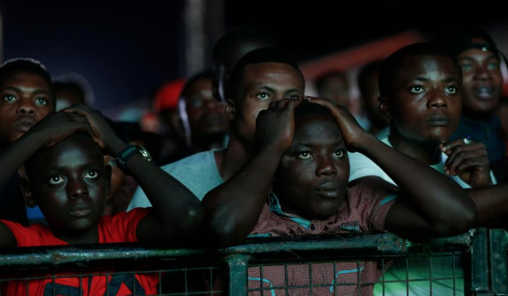 POWER OUT Nigeria plunged in to darkness by power grid meltdown as millions watched World Cup build-up on TV