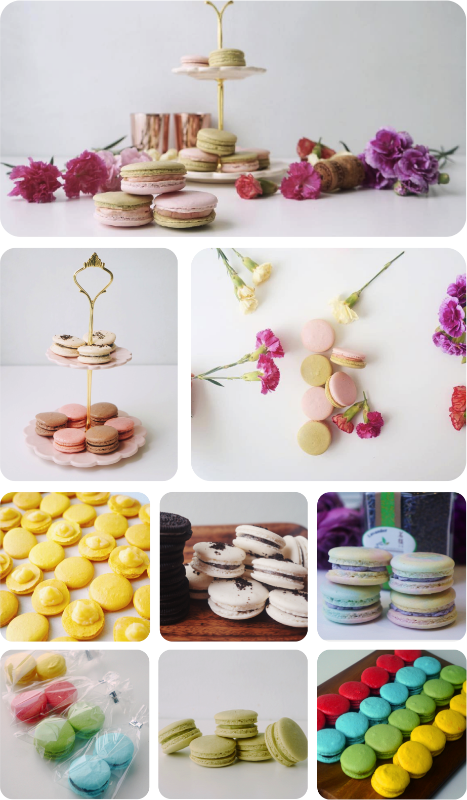 online bakery singapore macarons