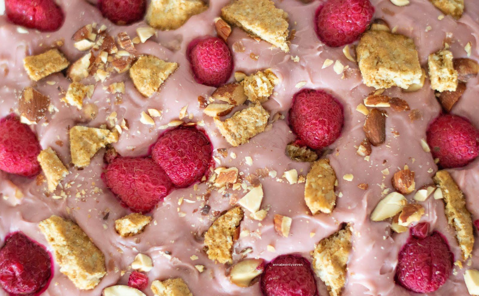ANNA TWENTY SEVEN RUBY CHOCOLATE FUDGE PINK RECIPE