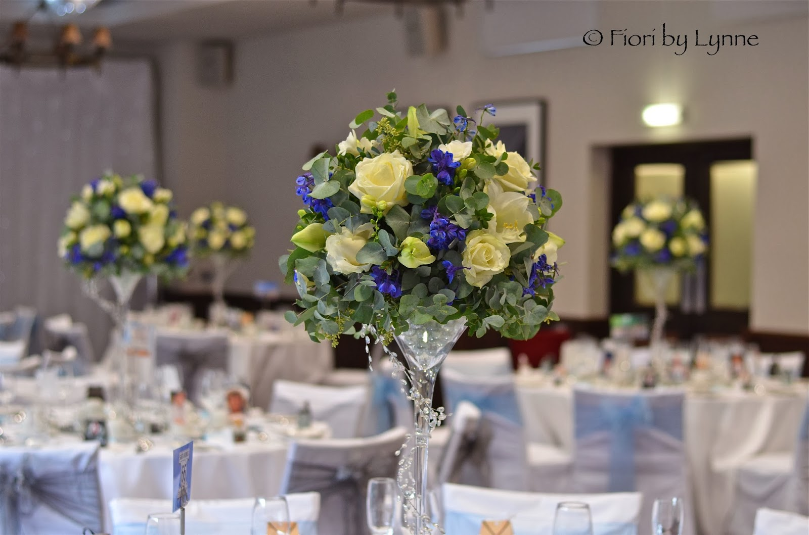 Wedding Flowers Blog Catherine S Blue White And Silver