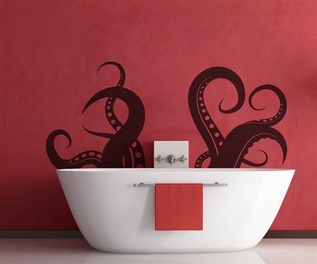 Cupboards Kitchen and Bath Bathroom Fun Theres an Octopus in my Bathtub