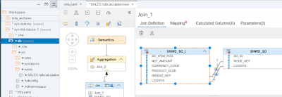 Synonyms in HANA XS Advanced, Accessing Objects in an External Schema