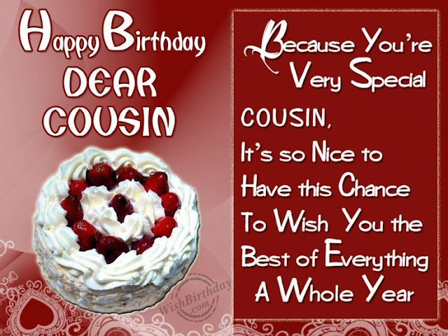 Happy Birthday Cousin HD Wallpapers Free Download