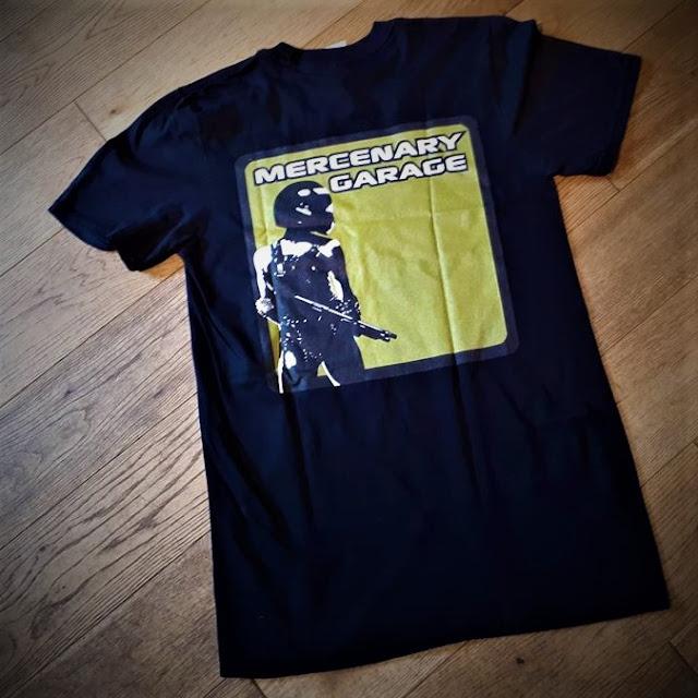 Mercenary T-Shirt - B-Side featuring the Mercenary Garage Logo - https://mercenary-garage.myshopify.com/