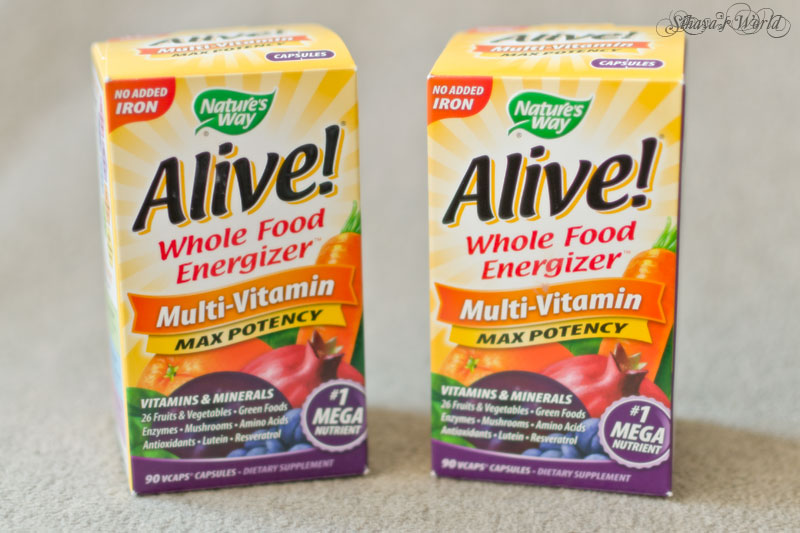 nature's way alive multi-vitamin oherb code sih411
