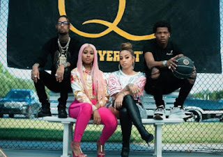 """Layton Greene, Lil Baby, Yung Miami, and PnB Rock Shot """"Leave Em Alone"""" Video"""
