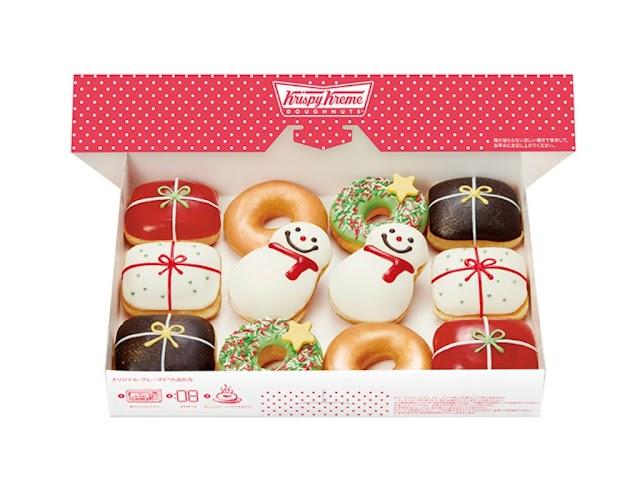 【日本限定】Krispy Kreme推出「聖誕冬甩」 可愛度爆燈