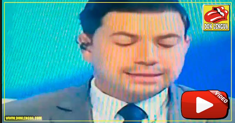 Periodista de Globovisión reconoció a Guaidó como Presidente en vivo y directo