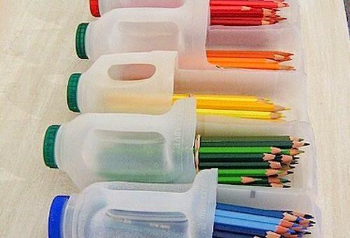 Kerajinan Tangan dari Barang Bekas, Aneka Kreasi Botol Plastik Bekas 10