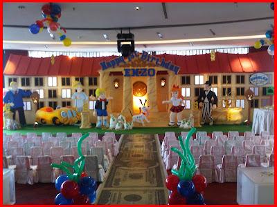 Dekorasi 3 Dimensi A Badut Jakarta Kids Event Organizer
