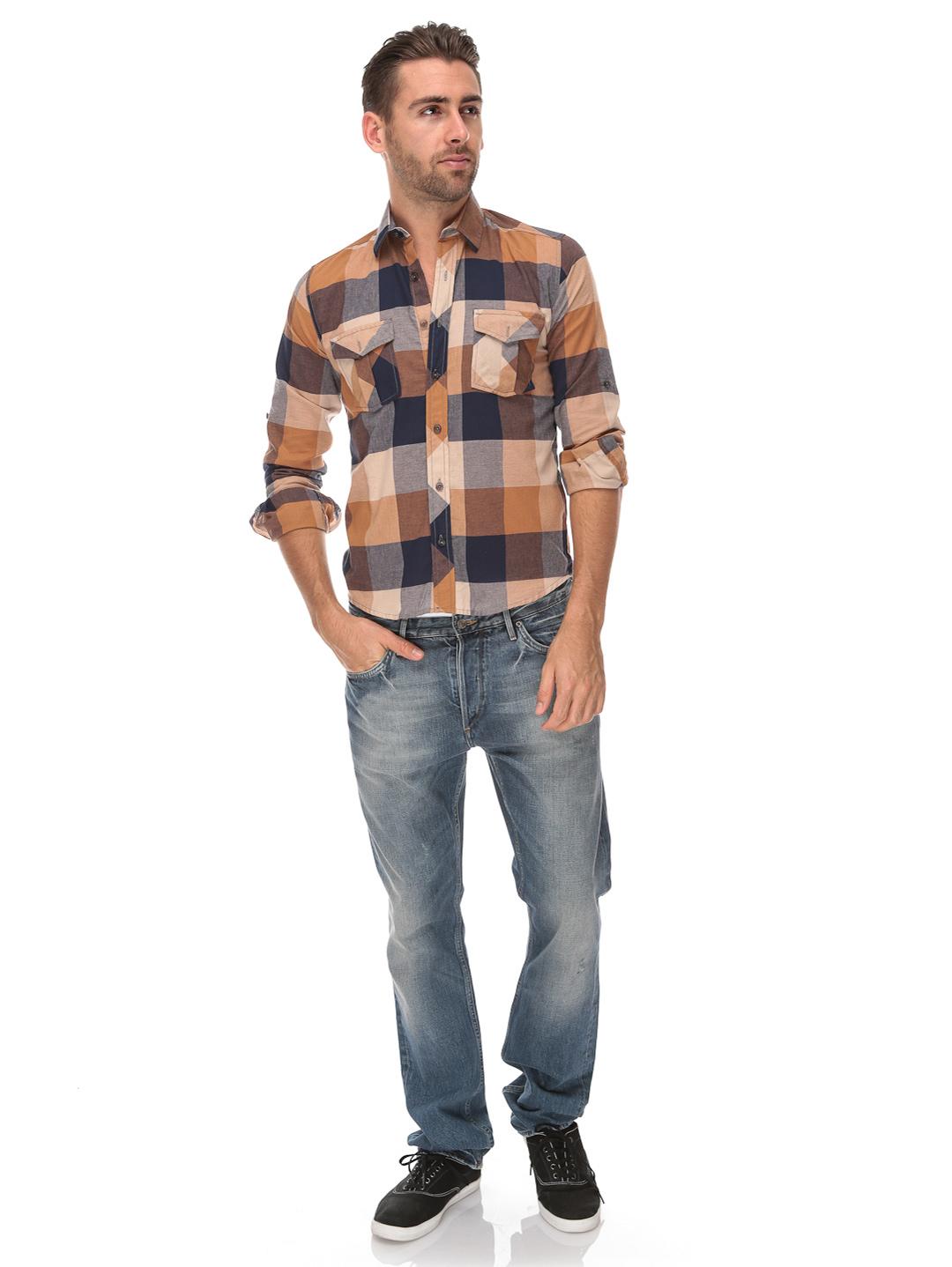 Men 39 s check shirts collection 2013 2014 for Mens fashion dress shirts