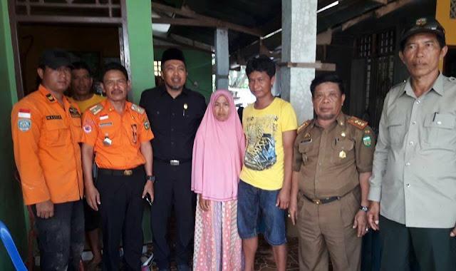 Kunjungi Rumah Korban, Sul Arrahman Harap Bocah yang Hanyut Segera Ditemukan