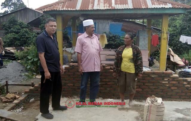 Rumahnya Direnovasi oleh FPI, Janda Kristiani ini Tak Henti Menitikkan Air Mata