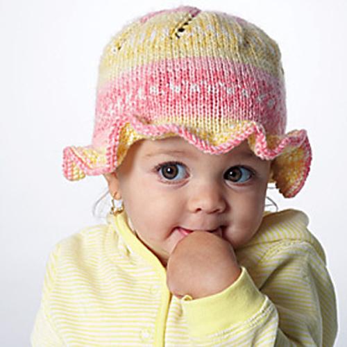 Ruffle Hat - Free Pattern