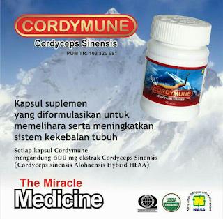 Cordymune Pengobatan Stroke Nasa