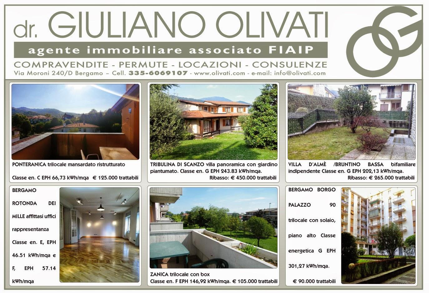 #Bergamo, #case proposte da Agenzia Immobiliare Olivati ...