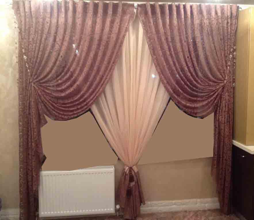 Latest bedroom curtain designs